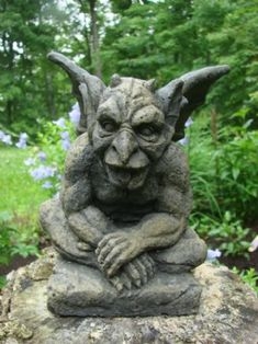 Favourite Gargoyle Garden Statues Gardens Love this and Building