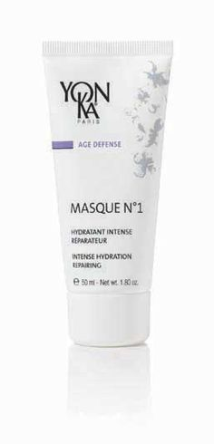 Yon-Ka Masque 1 Time Release Intense Moisture Mask 50ml £42.00  This gel -cream mask with delicate scent of flowers delivers both immediate and continuous, intensive hydration to the upper layer of the epidermis.