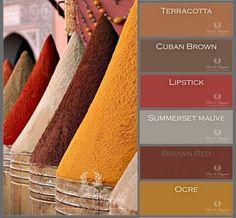 ^= ❤ Pure & Original Paint Swatch Book – It is all nature Fall Color Palette, Colour Pallete, Room Colors, House Colors, Colours, Deco Ethnic Chic, Moroccan Colors, Lime Paint, Traditional Paint
