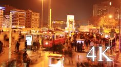 Stock Footage - Istanbul Taksim Square Timelapse 4K   VideoHive