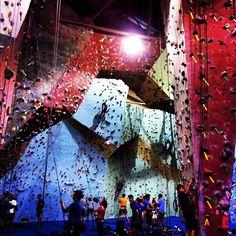 Indoor Rock Climbing at Go Vertical, Philadelphia, PA