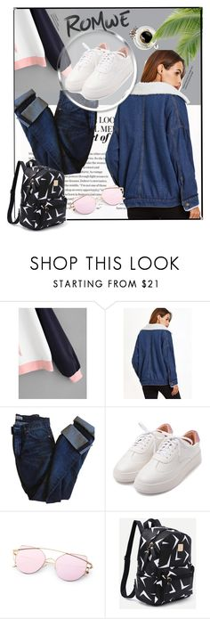 """""""Romwe"""" by kanita-b ❤ liked on Polyvore featuring Acne Studios"""