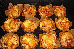 Puff pastry ham muffins 6 The post Puff pastry ham muffins by funkelsteinchen Gluten Free Pie Crust, Gluten Free Biscuits, Gluten Free Soup, Gluten Free Pizza, Gluten Free Muffins, Healthy Muffins, Gluten Free Baking, Healthy Snacks, Gluten Free Appetizers