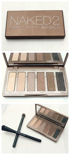 Naked2 Basics Eye Shadow Palette by Urban Decay | This is a very versatile and travel-friendly eye shadow palette.  It is the perfect neutral matte eye shadow.
