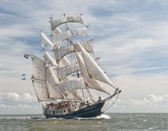 Tall Ship Thalassa (The Netherlands)  via whiskyzeilreizen.nl