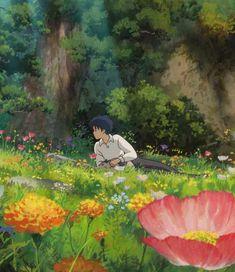 Celebrate The Birthday Of Studio Ghibli With These Wallpapers For Smartphones Studio Ghibli Films, Art Studio Ghibli, Secret World Of Arrietty, The Secret World, Art Anime, Anime Kunst, Totoro, Aesthetic Art, Aesthetic Anime
