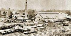 Larkin Sawmill. Located near where Farmers Market currently is.