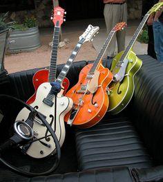 We'll take these passengers anytime! - #gretsch #music - http://www.austinbazaar.com/brands/gretsch.html