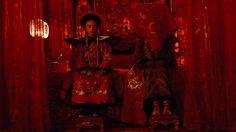 The Last Emperor - 1987 - (L) - John Lone as Emperor Pu Yi. (R) Joan Chen as Empress Wan Jung.