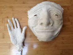 New Smoother Air-Dry Clay Recipe – Ultimate Paper Mache  1/2 cup wet toilet paper 1/2 cup Elmer's glue (or any white PVA glue) 1/2 cup drywall joint compound (any brand except Dap) 1/2 cup corn starch 3 tablespoons mineral oil (baby oil) 1 cup all-purpose white flour, or as needed