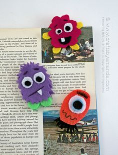 If you're looking for a fun bookmark craft, these adorable and colorful monsters are perfect for holding your place! If your kids love monster crafts they'll definitely want to make these. I've provided a pattern, but you can draw your own monsters if you like! Kids are heading back to school in a couple of weeks around here. In other  Read More »