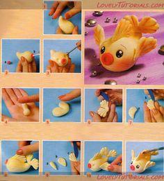 Fish clay tutorial