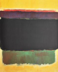 Pair of framed posters by Mark Rothko--Ukraine/Russia 1950s | From a unique collection of antique and modern posters at https://www.1stdibs.com/furniture/wall-decorations/posters/