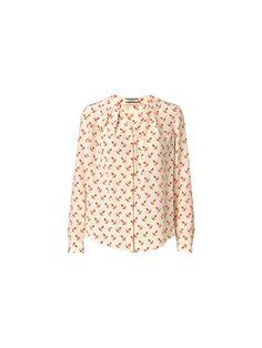Diae printed silk shirt | By Malene Birger