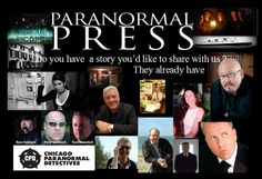Do you have a story about the paranormal - then we would love to hear them - they already have shared with us.