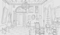 ArtStation - concept of museum interior, Anton Solovianchyk