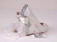 Wedge Wedding Shoe.