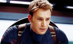 Pin for Later: 34 Times You Wanted to Rename Captain America Captain Sexypants He's So, So Serious About His Duty