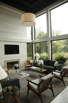 The Mid Century Modern Living Room style of decor was developed between 1945 and It is a beautiful, classic, and timeless approach to decorating.