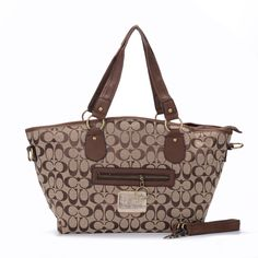 Look Here! Coach Legacy In Signature Jacquard Medium Khaki Totes EWQ Outlet Online