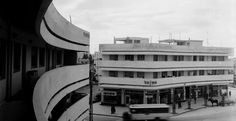 Dizengoff Square (Hebrew: כיכר דיזנגוף - Kikar Dizengoff) is one of the pearls of Tel Aviv. It had the architects actually design the buildings in a slow Bauhaus curve to embrace the round shape of the square. (plans for major renovation are under way).