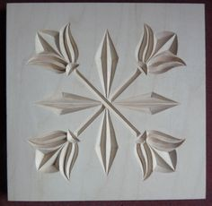 Chip Carving Class - Quilt Squares #16: i so want to learn how to do this