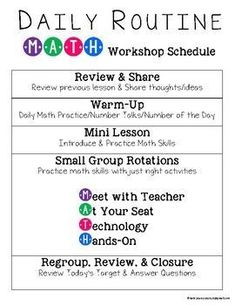 Guided Math Workshop Organization - Editable Pages - Mathe Ideen 2020 Maths Guidés, Math Classroom, Teaching Math, Math Teacher, Teaching Ideas, Classroom Ideas, Multiplication Games, Math Fractions, Future Classroom