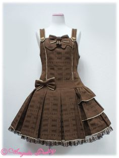 AP Melty Royal Chocolate Low waist JSK, any color way, browns preferred