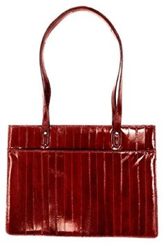 10cedee299db Lee Sands Women s Eelskin Tote Bag 12.75