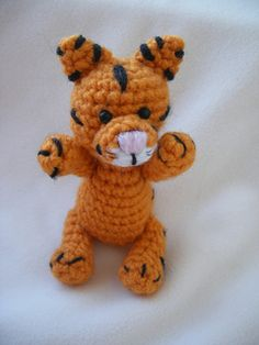Amigurumi Tiger pattern by Justyna Kacprzak-free