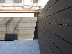 Garage Doors, Walls, Patio, Outdoor Decor, House, Ideas, Home Decor, Garden Fences, Wooden Fences