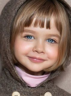 Image result for Little Girl Short Haircuts