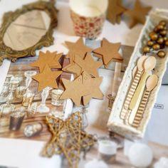 etiquetas de estrellas de papel craft  pedidos y catálogo: detallisime@yahoo.es