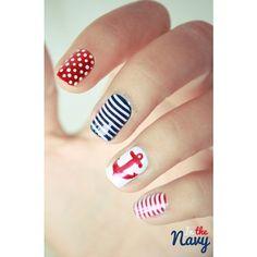 Creative Nails via Polyvore