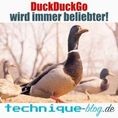 Beliebtheit von DuckDuckGo