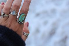 SIZE 6 - TURQUOISE RING
