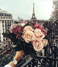 #paris #flowers #beauty