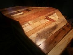 Table/Cabinet Top made from Pallets.