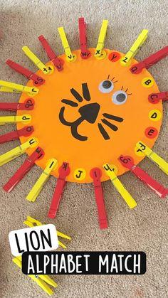 Kindergarten Learning, Toddler Learning Activities, Preschool Learning Activities, Preschool Lessons, Preschool Classroom, Classroom Activities, Fun Learning, Preschool Activities, Preschool Church Crafts