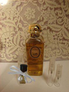 Here's an Etsy seller repackaging -- that's handmade! -- Hermes Caleche eau de toilette for sale.