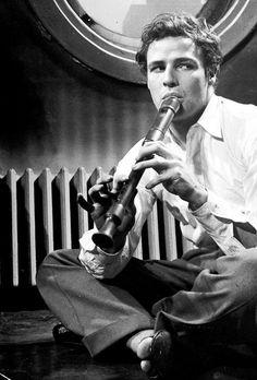 Marlon Brando photographed by Lisa Larsen, 1948.
