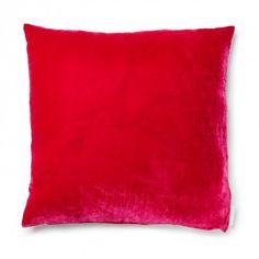 Aviva Stanoff Velvet Pillow - Azalea ( coupled w/ Mauvet)