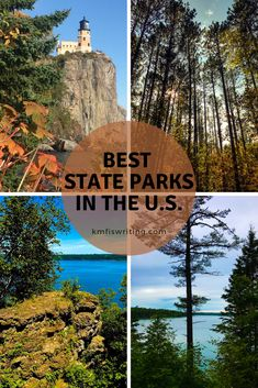Staycation ideas: Visit top state parks in the U.S. | A dozen travel bloggers share their favorite state parks throughout the U.S.  #staycation #stateparks #parks #vacation #travel #hiking #camping #waterfalls Usa Travel Guide, Travel Usa, Vacation Travel, Canada Travel, Travel Tips, Amelia Island State Park, Chimney Rock State Park, Us Destinations, Us Road Trip