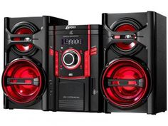 Mini System Lenoxx 50W RMS Função Karaoke e Repeat - USB MS 844