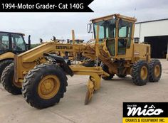 Low-Hours Cat 140G 72V17293 Motor Grader for Sale. Visit Mico Equipment for Used & New Cat Heavy Motor Grader at Competitive Prices, Backed By Professional Support and Services.