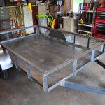 Utility Trailer Photos - Red Wing Steel Works Utility Trailer, Red Wing, Picnic Table, Wings, Steel, Photos, Furniture, Home Decor, Trailers