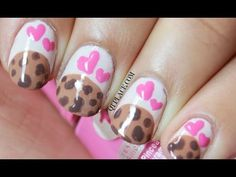 Cookie nail art - YouTube