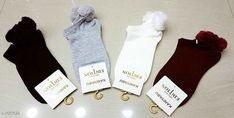 Socks Women's Comfy Cotton Socks  (Pack of 4)  *Fabric* Cotton  *Size* Free Size  *Description* It Has 4 Pair of Socks  *Pattern* Solid  *Sizes Available* Free Size *   Catalog Rating: ★4 (167)  Catalog Name: Women's Comfy Cotton Socks Combo Vol 1 CatalogID_129625 C72-SC1086 Code: 093-1061628-