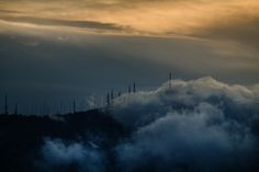 When the day destroys the night. by Vagelis Poulis on One Light, Istanbul, Clouds, Mountains, Night, City, Nature, Travel, Outdoor