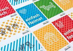 Corporate Design for Munich Tourism / by Zeichen & Wunder